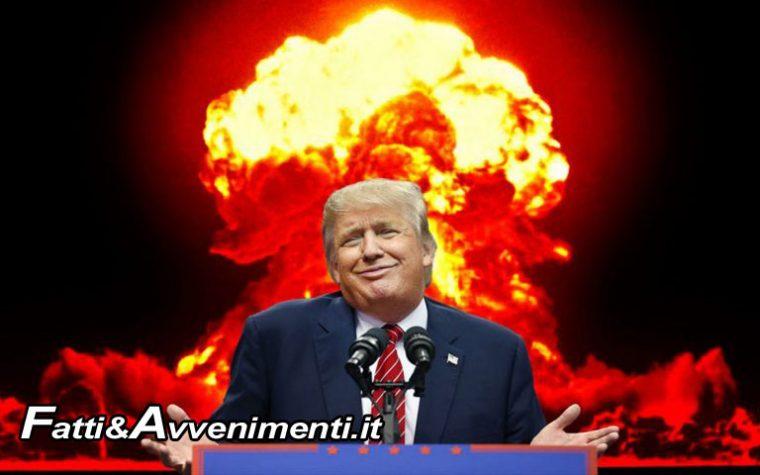 USA corrono al riarmo: Trump lancia nuova strategia su armamenti nucleari