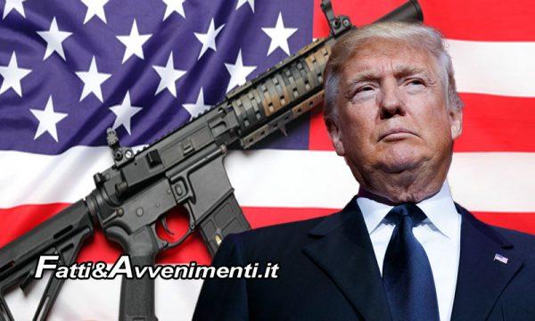 USA, libero commercio delle armi, Trump: stop ai bump – stock