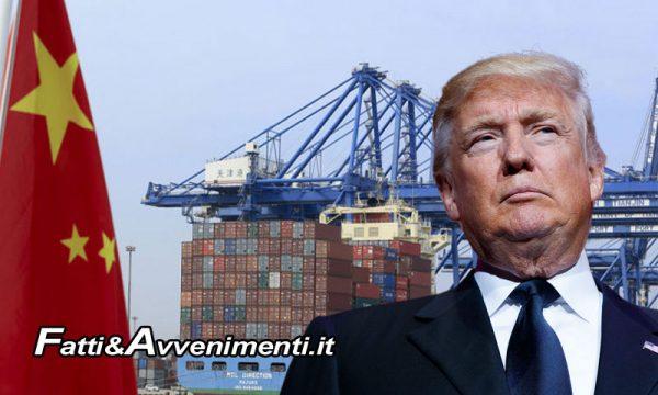 Usa: pronti pesanti dazi su importazioni dalla Cina