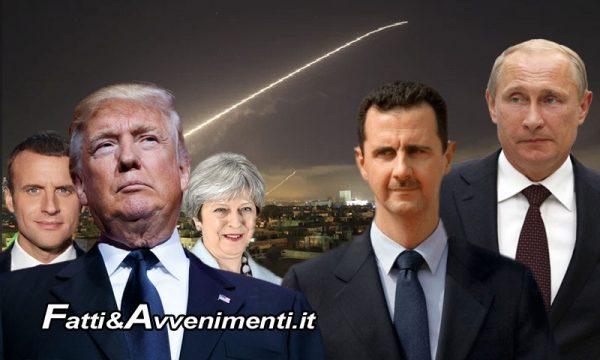 Usa, Francia e UK attacano la Siria: un'azione dimostrativa per non perdere credibilità tra l'opinione pubblica