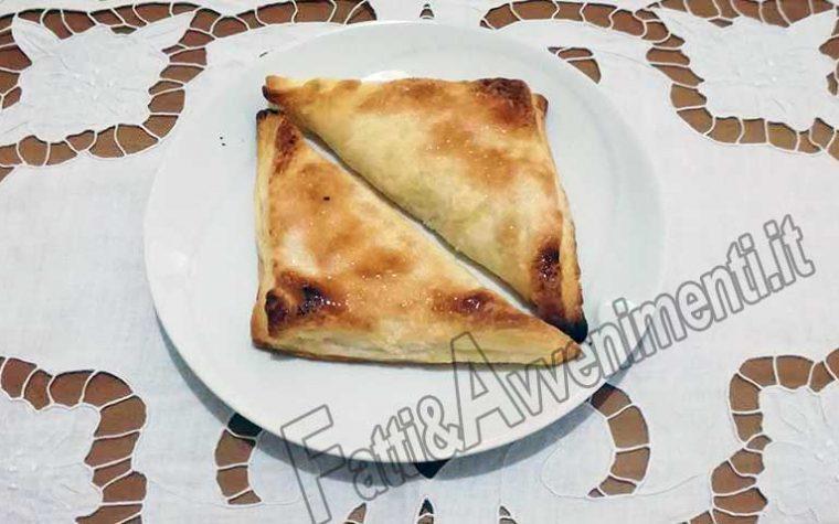 Dolci. Sfogliatelle di ricotta alla siciliana – Ricetta veloce, preparazione in 10 minuti