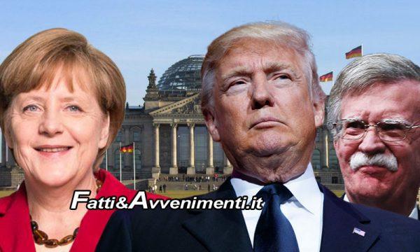 Trump contro la Germania (e l'UE) della Merkel: Dalla NATO ai dazi al Gatestone Institute