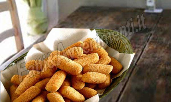 Crocchette di patate – Ricetta siciliana
