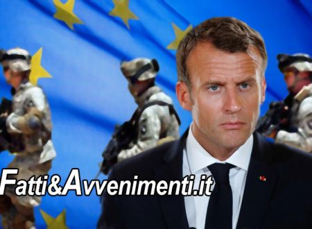 "Francia. Macron vuole un vero ""esercito Europeo"" per difenderci da Putin, Trump e Xi Jinping"