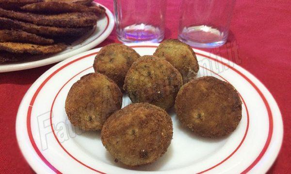 Polpettine di melanzane fritte – Ricetta siciliana