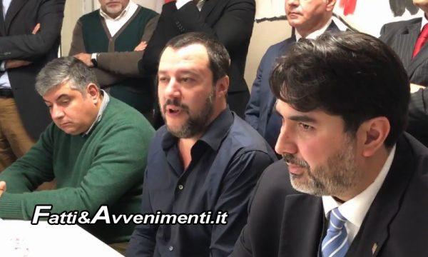 """Salvini in Sardegna pensa alle Regionali: """"Il candidato governatore sarà scelto dai sardi, liste al di sopra di ogni sospetto"""""""