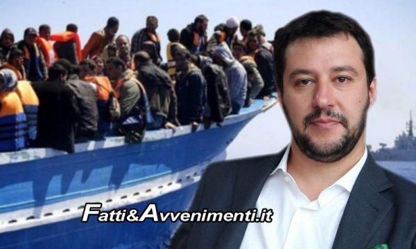 """Immigrazione. Morti in mare scendono da 212 a 23, Salvini: """"Così ho stroncato il business dell'immigrazione clandestina"""""""