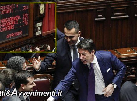 """La manovra è legge: la Camera approva con 313 voti favorevoli, Conte: """"scelte per redistribuire ricchezza"""""""