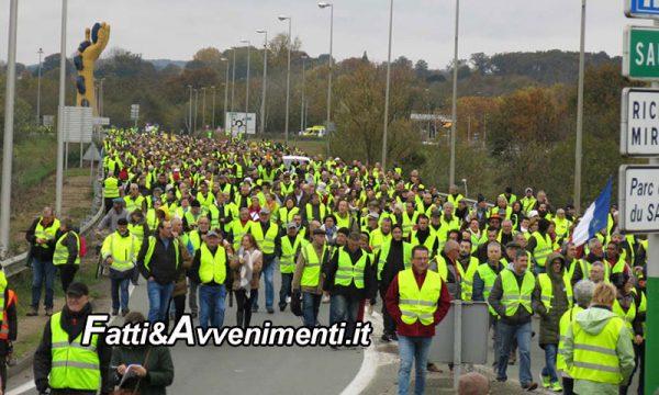 Francia. I Gilet Gialli per il 9^ weekend consecutivo protestano contro Macron e Di Maio approva la manifestazione