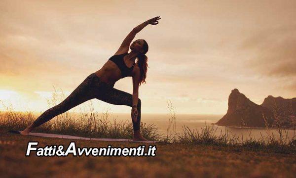 Yoga e sport un connubio d'avanguardia. L'eleganza senza tempo di una disciplina che sta bene con tutto
