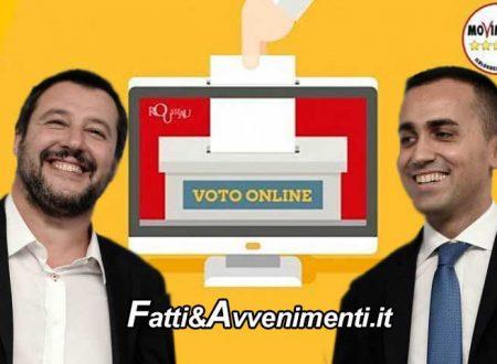 """Voto online M5S. Vince il no, il 59% boccia il processo a Salvini. Per Di Maio: """"Valutato l'interesse pubblico"""""""