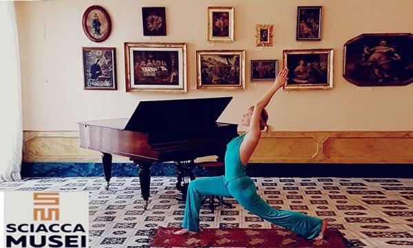 """Corpo & Mente. Sciacca. """"Yoga al Museo"""" l'arte di vivere incontra l'espressione dell'arte"""