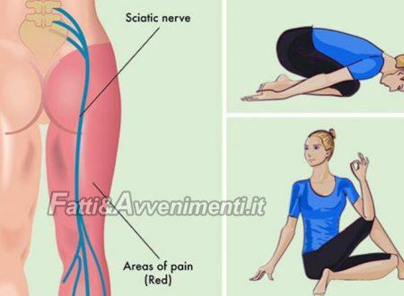 Corpo & Mente. La sciatalgia: ecco esercizi e posizioni yoga  per  prevenire o debellare il dolore