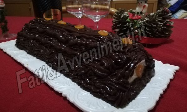 Tronchetto ricotta e crema al cioccolato – Ricetta siciliana