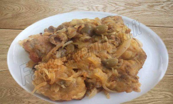Palombo in agrodolce alla saccense – ricetta siciliana