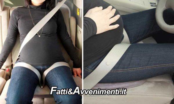 """Salute & Benessere. Cintura di sicurezza in gravidanza: usata """"correttamente"""" salva mamma e feto"""