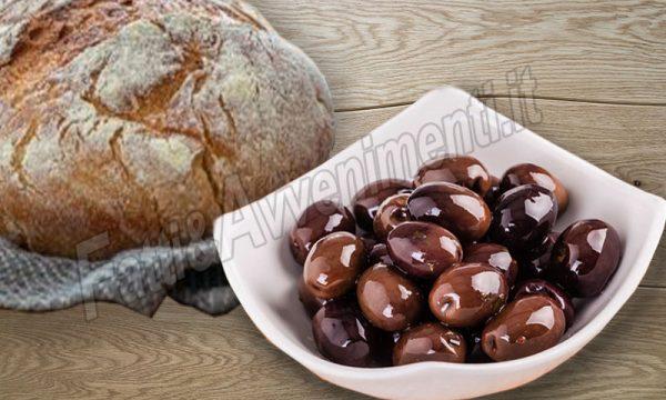 """Olive nere siciliane """"dolci"""" conservate con bicarbonato e sale"""