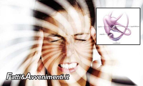 Salute & Benessere. La cupololitiasi o vertigine parossistica posizionale benigna: cause e terapia